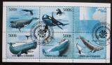 Poštovní známky Komory 2011 Velryby Mi# 3063-67 Kat 12.50€
