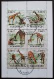 Poštovní známky Mosambik 2010 Žirafy Mi# 3530-35