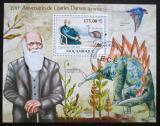Poštovní známka Mozambik 2009 Charles Darwin Mi# Block 284