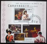 Poštovní známka Mosambik 2010 Umění, Caravaggio Mi# Block 377 10€