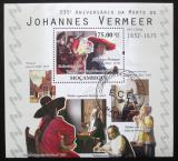 Poštovní známka Mosambik 2010 Umění, Vermeer Mi# Block 373 10€