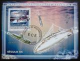 Poštovní známka Mosambik 2009 Historie dopravy, lodě Mi# Block 238 Kat 10€