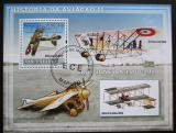 Poštovní známka Mosambik 2009 Stará letadla Mi# Block 254 Kat 10€