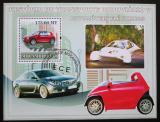 Poštovní známka Mosambik 2009 Elektromobily Mi# Block 244 Kat 10€