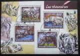 Poštovní známky SAR 2014 Nosorožci Mi# 4715-18 Kat 16€