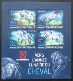 Poštovní známky SAR 2013 Rok koně Mi# 4301-04 Kat 14€
