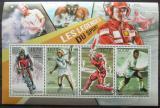 Poštovní známky Burundi 2012 Sportovní legendy Mi# 2304-07 Kat 9.90€