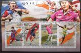 Poštovní známky Burundi 2012 Sportovní legendy Mi# 2300-03 Kat 9.90€