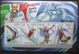 Poštovní známky Burundi 2012 Sportovní legendy Mi# 2308-11 Kat 9.90€