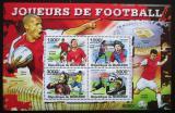 Poštovní známky Burundi 2011 Fotbalisti Mi# 2142-45 Kat 9.50€