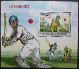 Poštovní známka Burundi 2013 Kriket Mi# Block 381 Kat 9€