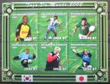 Poštovní známky Mosambik 2001 MS ve fotbale Mi# 1847-52 10€