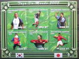 Poštovní známky Mosambik 2001 MS ve fotbale Mi# 1853-58 Kat 10€