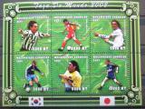 Poštovní známky Mosambik 2001 MS ve fotbale Mi# 1823-28 Kat 10€