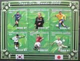 Poštovní známky Mosambik 2001 MS ve fotbale Kat 10€