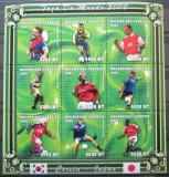 Poštovní známky Mosambik 2001 MS ve fotbale Mi# 1814-22