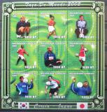 Poštovní známky Mosambik 2001 MS ve fotbale Mi# 1805-13