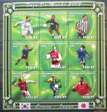 Poštovní známky Mosambik 2001 MS ve fotbale Mi# 1838-46