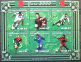 Poštovní známky Mosambik 2001 ME ve fotbale Mi# 1950-55
