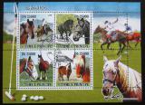 Poštovní známky Svatý Tomáš 2008 Koně Mi# 3677-80 Kat 12€