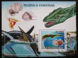 Poštovní známka Svatý Tomáš 2009 Pravěká fauna Mi# Block 695 Kat 10€
