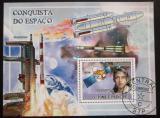 Poštovní známka Svatý Tomáš 2009 Dobývání vesmíru Mi# Block 692 Kat 10€