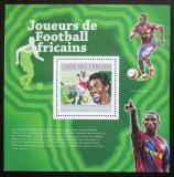 Poštovní známka Komory 2010 Fotbalisti Mi# Block 597 Kat 15€