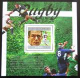 Poštovní známka Komory 2010 Rugby Mi# Block 589 Kat 15€