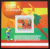 Poštovní známka Komory 2010 Africký pohár Mi# Block 598 Kat 15€