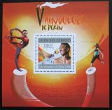 Poštovní známka Komory 2010 LOH Peking Mi# Block 604 Kat 15€
