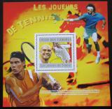Poštovní známka Komory 2010 Tenisti Mi# Block 595 Kat 15€
