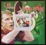 Poštovní známka Komory 2010 Stolní tenis Mi# Block 594 Kat 15€