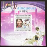 Poštovní známka Komory 2010 LOH Peking Mi# Block 605 Kat 15€