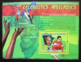 Poštovní známka Komory 2009 Osobnosti Afriky Mi# Block 504 Kat 15€