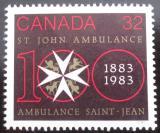 Poštovní známka Kanada 1983 Ambulance svatého Jana Mi# 874