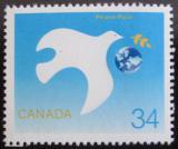 Poštovní známka Kanada 1986 Mezinárodní rok míru Mi# 1010