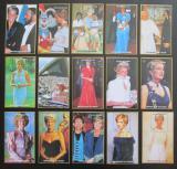 Kompozice NIGER 1997 Princezna Diana - 15 aršíků