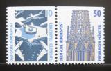 Poštovní známky Německo 1989 Pamětihodnosti, ze sešitku