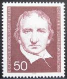 Poštovní známka Západní Berlín 1975 Gottfried Schadow, grafik Mi# 482