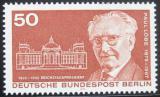 Poštovní známka Západní Berlín 1975 Paul Löbe, politik Mi# 515