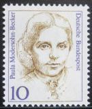 Poštovní známka Německo 1988 Paula Modersohn-Becker, malířka Mi# 1359