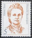 Poštovní známka Německo 1989 Emma Ihrer, politička Mi# 1405