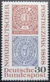 Poštovní známka Německo 1968 Severoněmecká konference Mi# 569