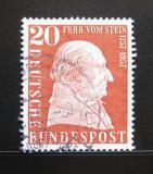 Poštovní známka Německo 1957 Baron vom Stein, státník Mi# 277