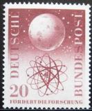 Poštovní známka Německo 1955 Vědecký výzkum Mi# 214 Kat 12€