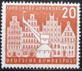 Poštovní známka Německo 1956 Luneburg milénium Mi# 230 8€