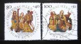 Poštovní známky Německo 1993 Vánoce Mi# 1707-08