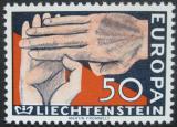 Poštovní známka Lichtenštejnsko 1962 Evropa CEPT Mi# 418