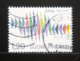 Poštovní známka Finsko 1985 EFTA, 25. výročí Mi# 954