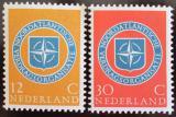 Poštovní známky Nizozemí 1959 NATO Mi# 728-29